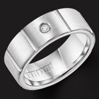don't be frustrate when you bored with silver and other rings made of flexible metals. just get tritons rings by click here http://www.tungstenringstore.com/product-category/triton-rings/
