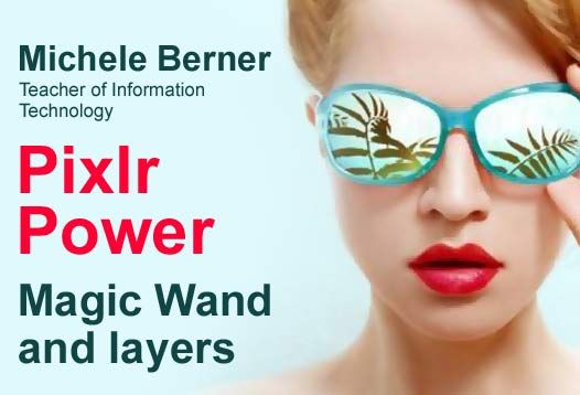 """Check out this micro-course: """"Pixlr Power. Magic wand and layers"""" by Michele Berner https://coursmos.com/course/pixlr-power-magic-wand-and-layers #Design @coursmos"""