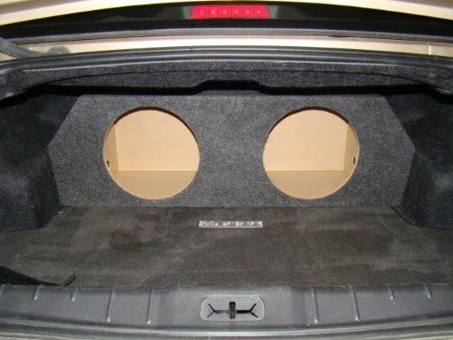 "Zenclosures 2008-2012 Chevy Malibu 2-12"" Subwoofer Box. 2008-2012 Chevy Malibu Subwoofer Box."
