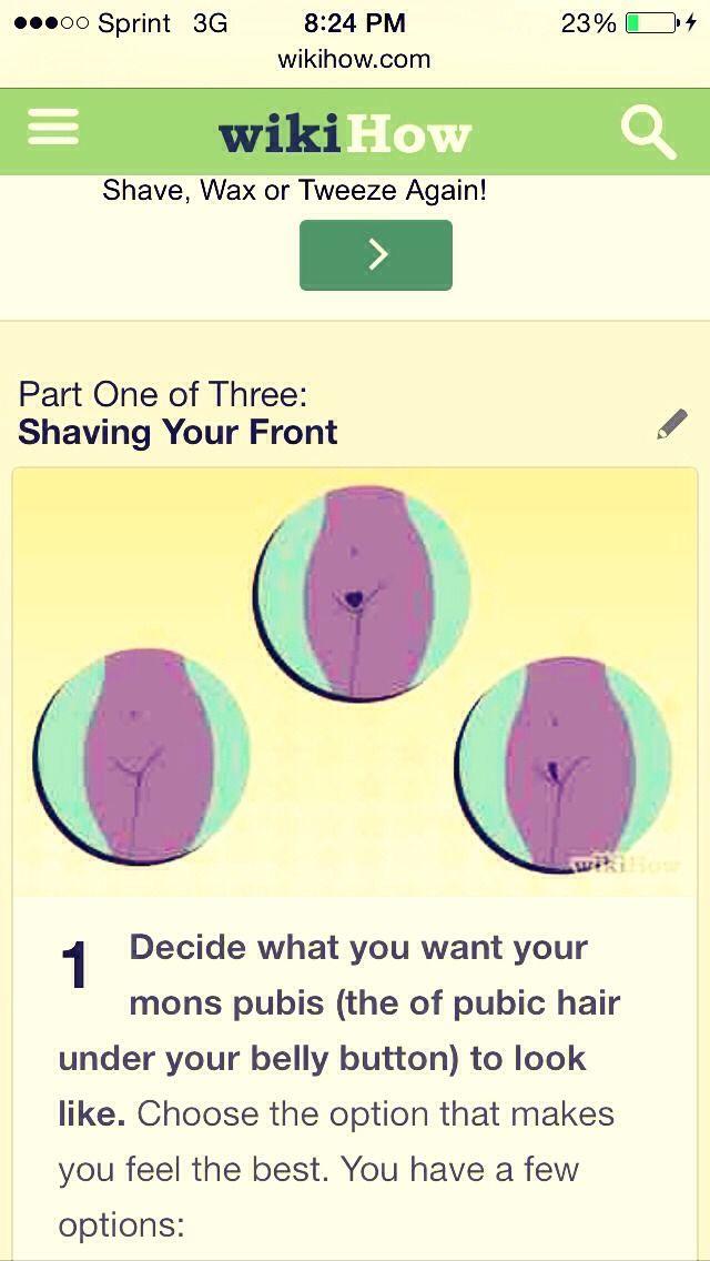 1000 Ideas About Shave Bikini Area On Pinterest Leg