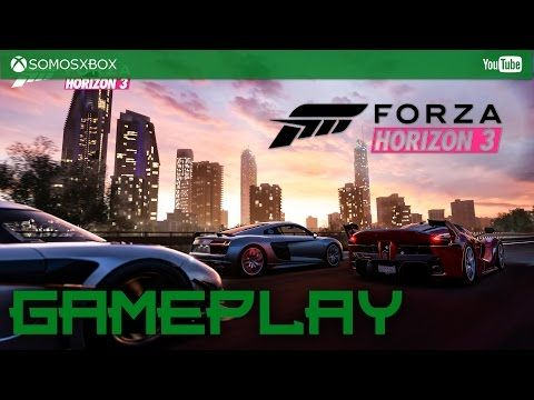 Gameplay de Forza Horizon 3 en gloriosos 4K