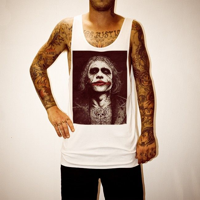 Buy Waynes Heath Ledger White Singlet online today at Uncle Reco's Online Store.