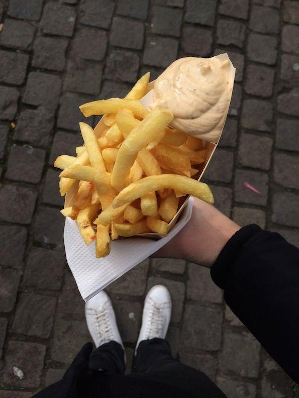 Bruxelles City Guide : 5 adresses pour manger des frites belges