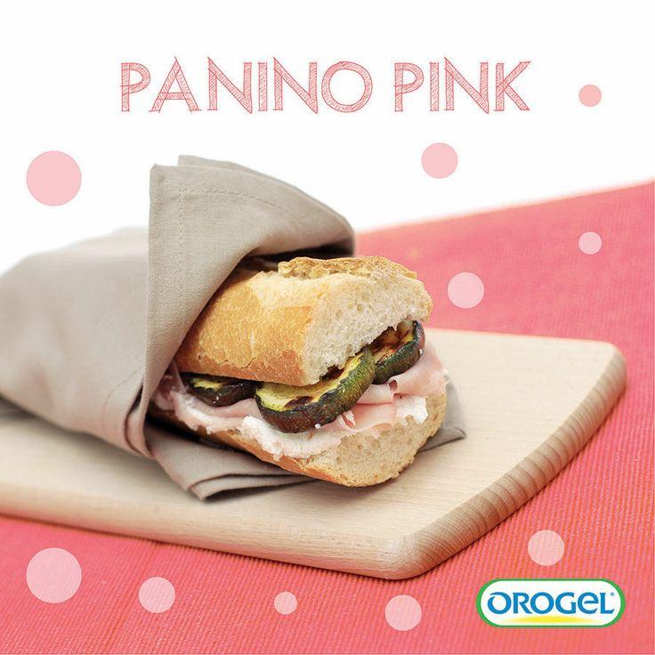 Panino con prosciutto cotto e #zucchine! #ricettebambini