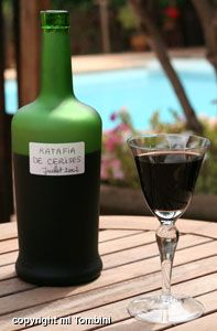 Ratafia de cerises - Recettes de cuisine de Provence