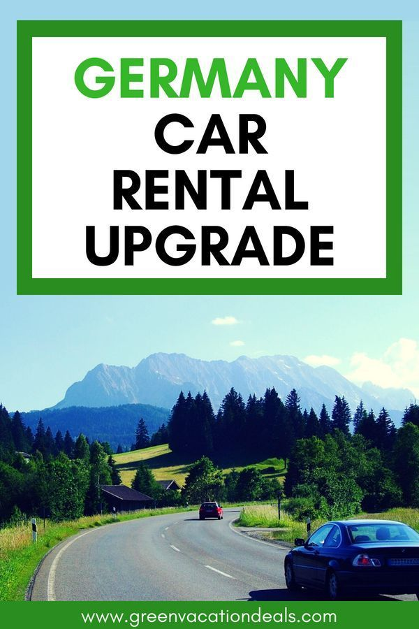 Germany Car Rental Upgrade Europe Travel Vacation Deals