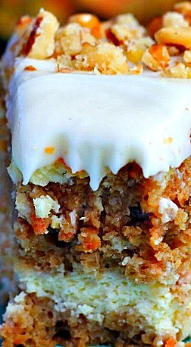 Cheesecake Factory Carrot Cake Cheesecake ❊
