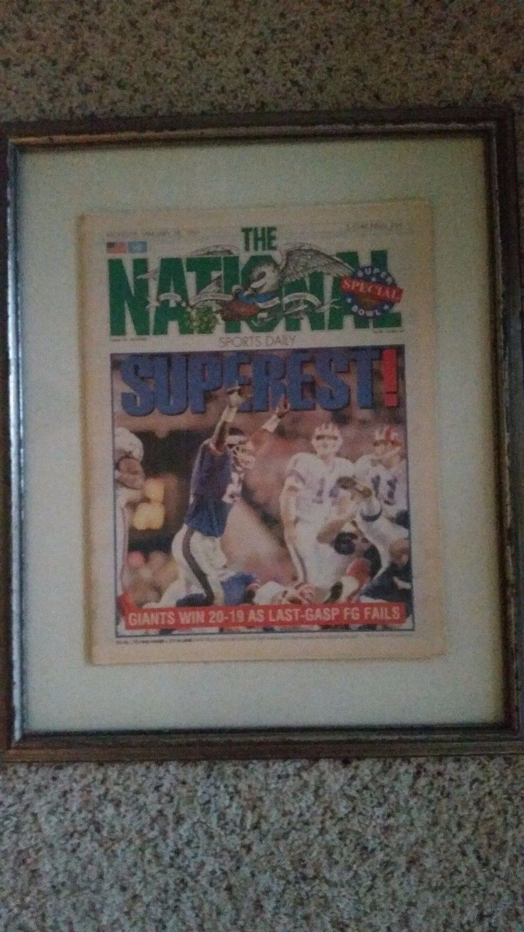 1991 NFL Superbowl Scott Norwood MISSES last second FG Buffalo loses to GIANTS