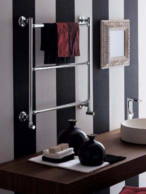 króm radiátor, fürdőszobai luxus radiátor, design radiátor
