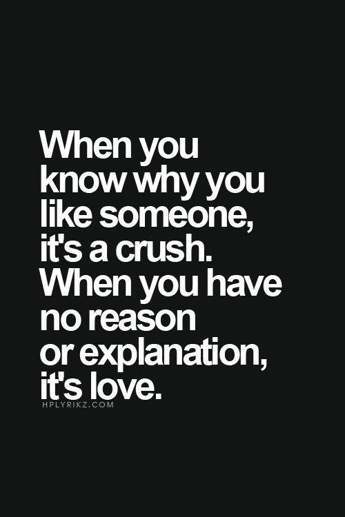 Je suis amoureuse de toi, par une infinité de raison. Et bien d'autres encore que j'ignore. Mais je t'aime.