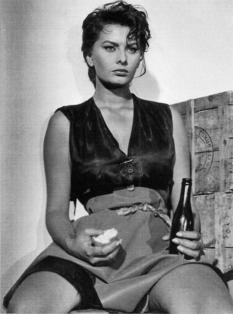 """""""Sex appeal is fifty percent what you've got and fifty percent what people think you've got"""". Sofia Loren"""