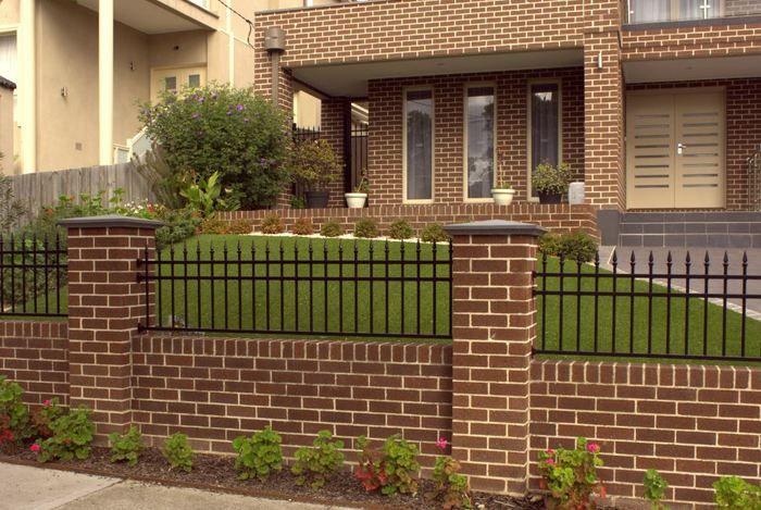 Simple Minimalist Yet Charming House Fence Design Ideas House Fence Design Fence Design House Gate Design