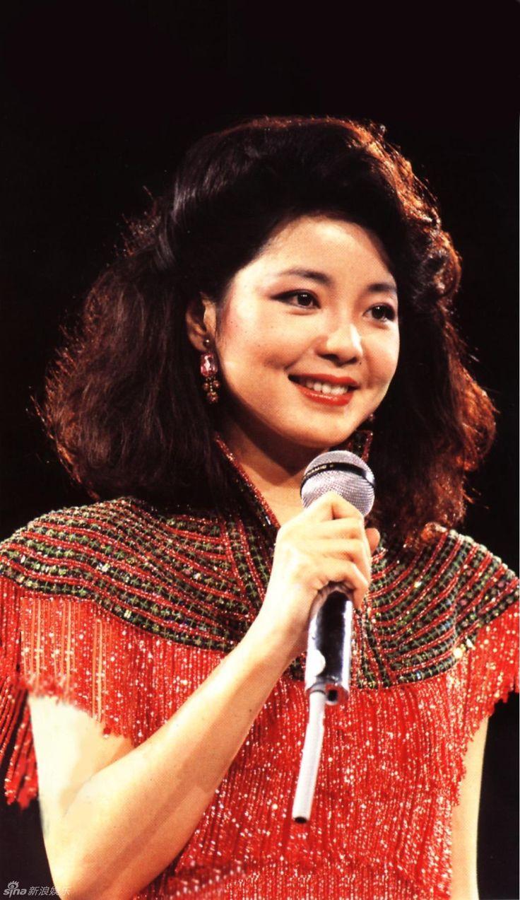 An unforgettable sweet, angelic voice, Teresa Teng.