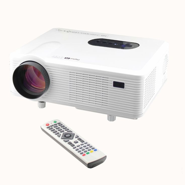 Excelvan Cl720 Full Hd Home Theater Projector 3000 Lumen: Excelvan CL720 Home Theater Projector (3000 Lumens,1080P