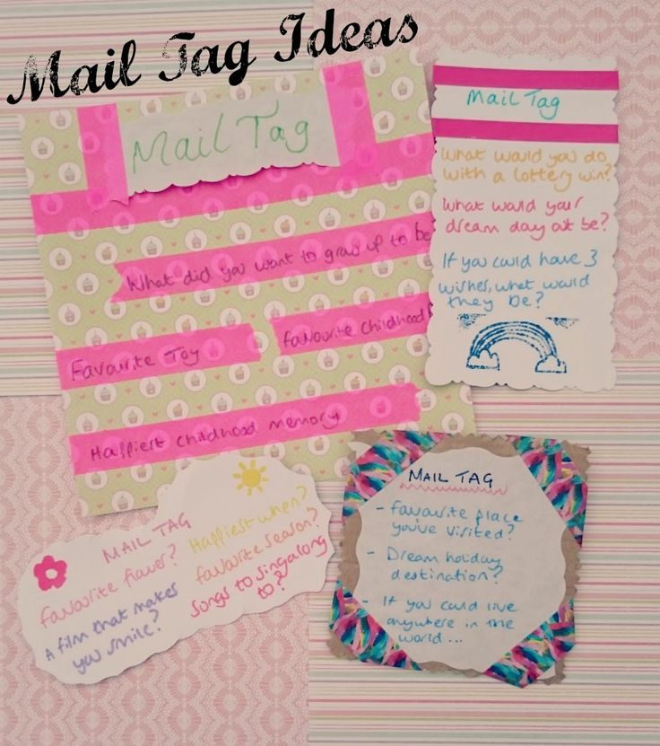 mail tag ideas The Ultimate Pinterest Party, Week 56