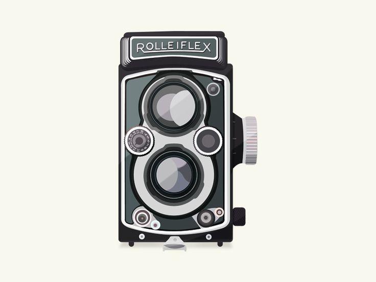 Vintage Camera - Rolleiflex by Patricia Martinez