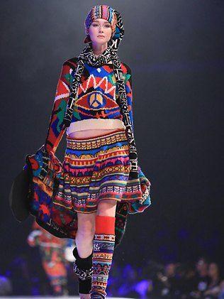 Australian designer Jenny Kee