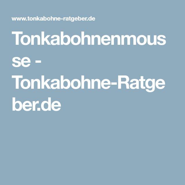 Tonkabohnenmousse - Tonkabohne-Ratgeber.de