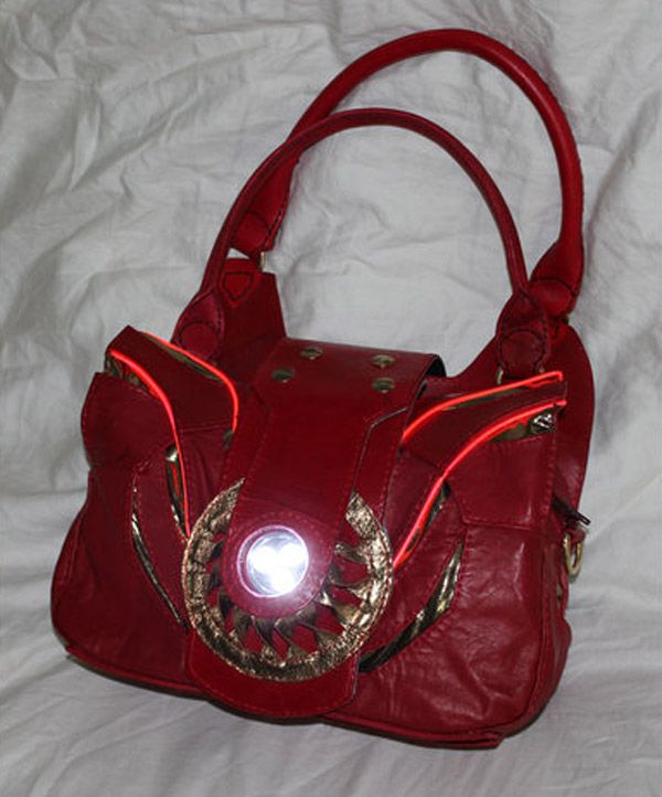 Iron Man Purse Has An Arc Reactor That Lights Up