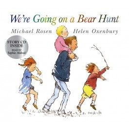 We're Going On a Bear Hunt (book and CD) $17.95