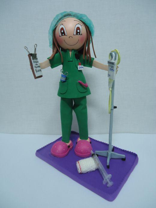 Fofucha personalizada Enfermera