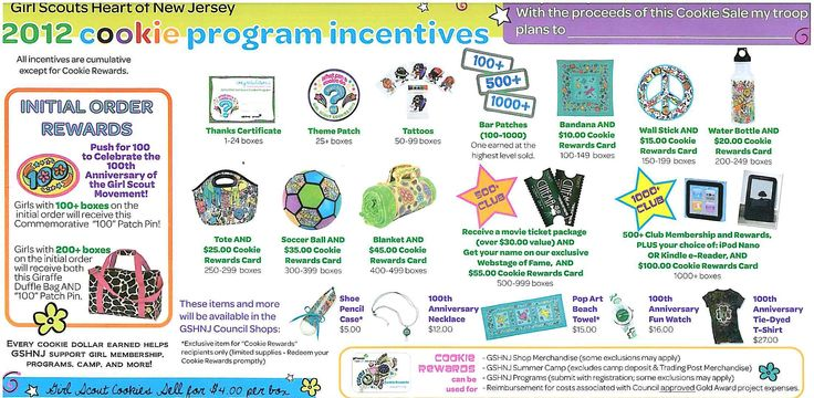 13 best images about girl scouts cookie recognitions on