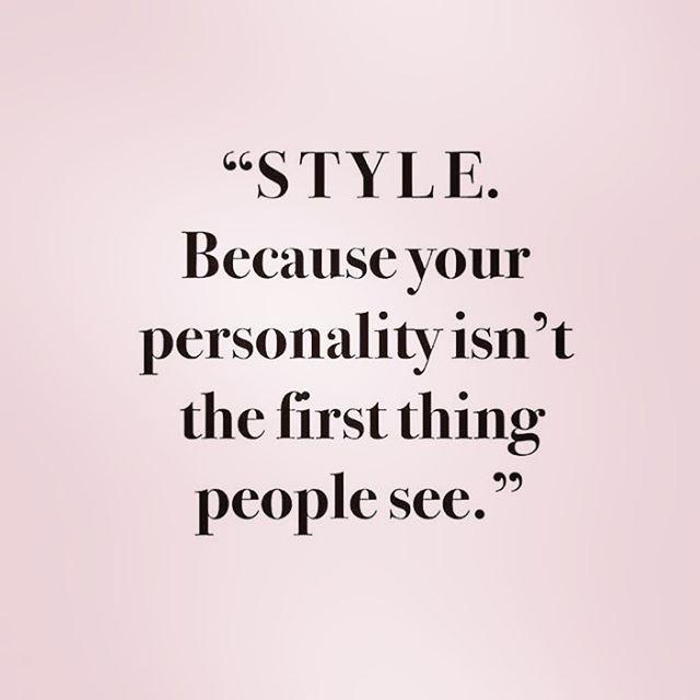 Amen.  Fashion Quote. Pensez à votre apparence, elle est le reflet de votre personnalité