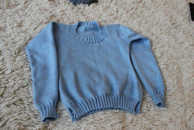 Детский свитер-туника