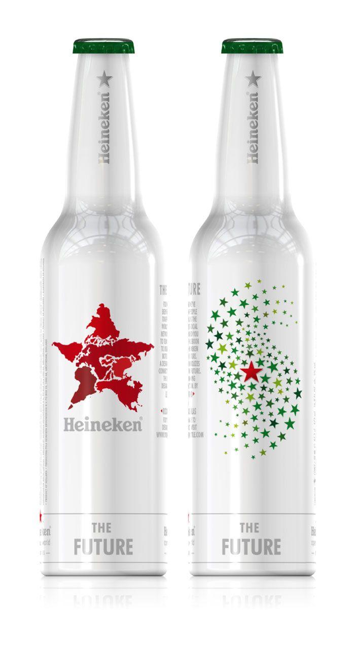 140th Anniversary Heineken Bottle - Me encanta la estrella.