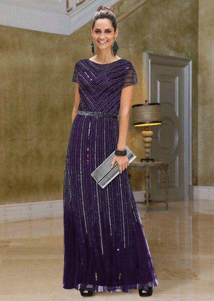 Togdther Beaded Purple Maxi Maxi Dress Plus Size 20 #fashion ...