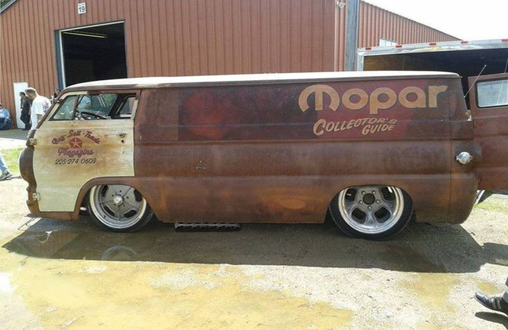 ◆ Visit ~ MACHINE Shop Café ◆ ☠ R A D I C A L RAT ROD ☠ (Dodge A100 Chop Top Rat…