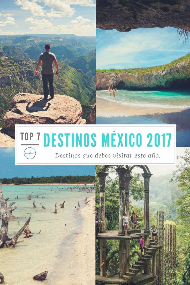 7 Destinos en México que debes visitar este 2017 #Travel #TravelMexico #MexicoDestinations #TopMexico #ViajarPorMexico #Viajes #Mexico #Chihuahua #SanLuisPotosi #PuertoVallarta #Xilitla #PueblosMagicos