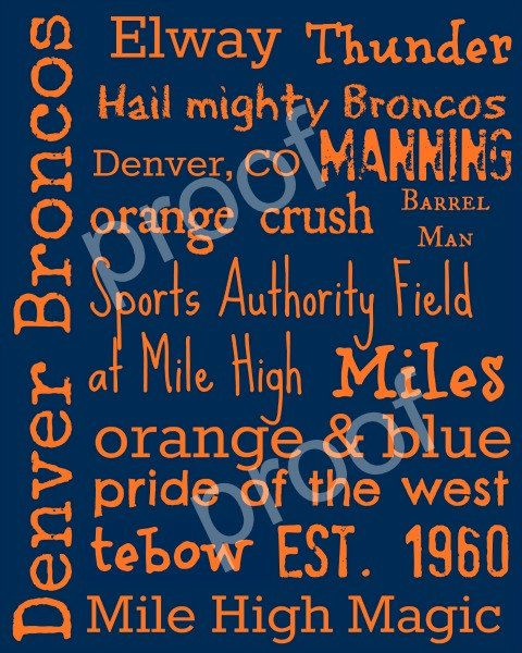 Hey, I found this really awesome Etsy listing at https://www.etsy.com/listing/115822087/denver-broncos-subway-art-print-16x20