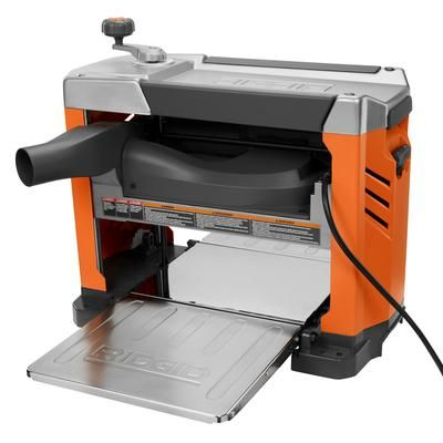 Ridgid - 13 In. Thickness Planer with 3-Blade Cutterhead - R4331 - Home Depot Canada
