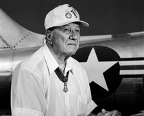 captain ed freeman: medal of  honor winner. This man is a true hero! Google him he absolutely deserves your time.