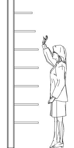 this is so smart for pantry – reducing width of shelves as you go up.