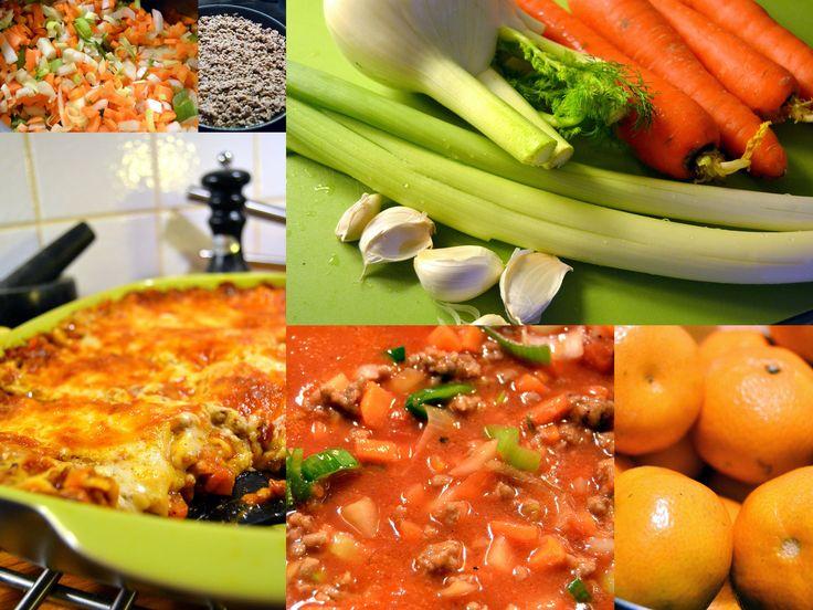 Lasagne maistuu viikonloppuna!  http://umami.fi/ruoka-juoma/mervi/lasagne-bolognese/