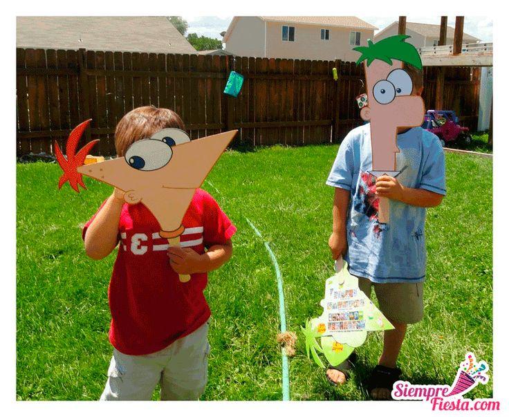 Increíbles ideas una fiesta de cumpleaños de Phineas y Ferb. Encuentra todos los artículos para tu fiesta en nuestra tienda en línea: http://www.siemprefiesta.com/fiestas-infantiles/ninos/articulos-phineas-y-ferb.html?utm_source=Pinterest&utm_medium=Pin&utm_campaign=Phineas