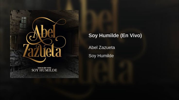 Soy Humilde (En Vivo) - YouTube Music