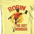 Robin The Boy Wonder T-shirt Bat-Man vintage TV show Burt Ward 100% cotton tee