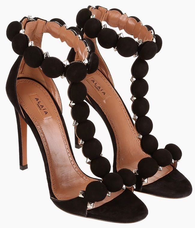 azzedine alaia sandals | DUPE ALERT: AZZEDINE ALAIA STUDDED SUEDE SANDALS LOOK FOR ...