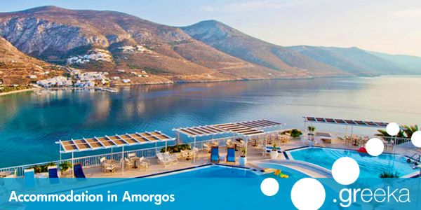 Book the best Amorgos hotels, including apartments, rooms, studios and more types in beautiful locations of Amorgos island, in Greece.