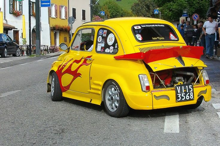 FIAT  500 Abarth  Radubo FIAT 500 a Folgaria Tn 20,09.09