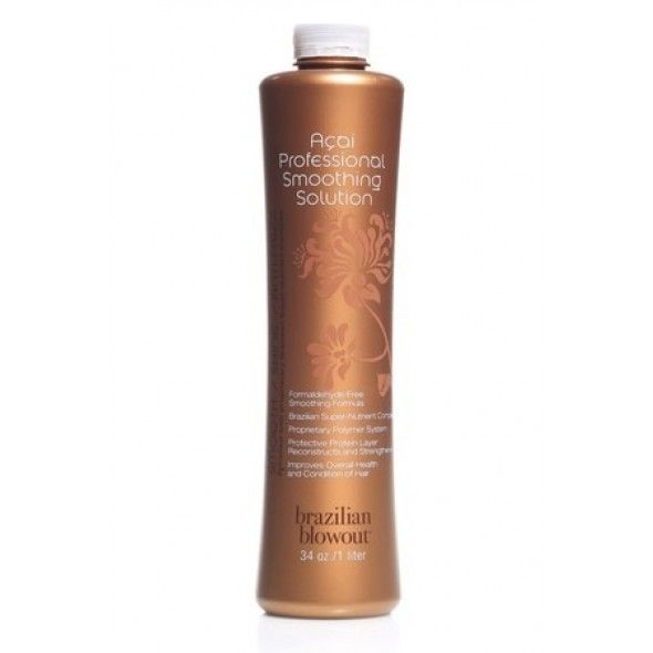 Buy Brazilian Blowout Professional Solution to enjoy the astonishing smoothening results achieved with the help of plant-derived KeraSafe bonding system. The smoothing solution is also free from formaldehyde ensuring safe application.