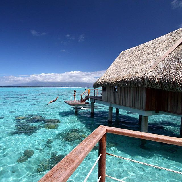Tahiti Accommodation Over Water Bungalows: 1000+ Images About #Tahiti On Instagram On Pinterest