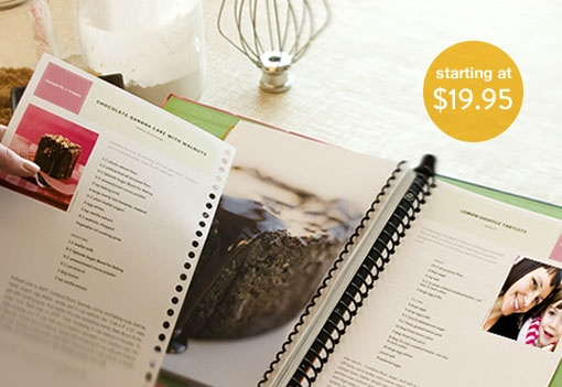 Tastebook.com is a great and easy way to create your own cookbook. This is one of my favorite gift ideas, especially as hostess gifts or thank you gifts.