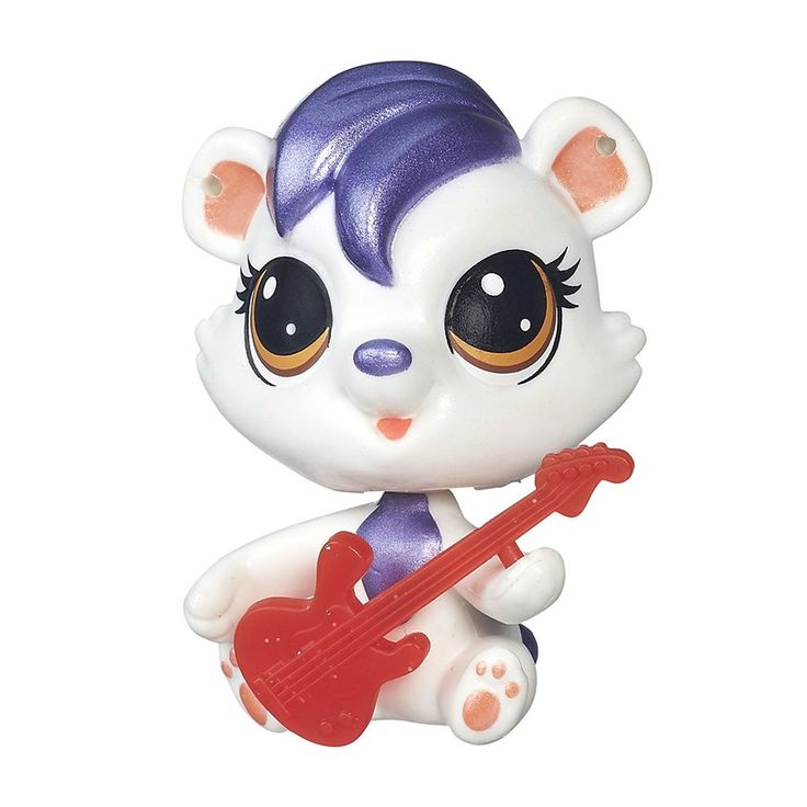 Littlest Pet Shop Single Pet Berry Lively Glimmer Pet #27