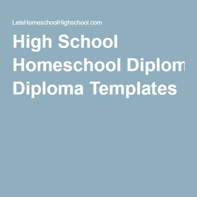 The 25+ best Free high school diploma ideas on Pinterest Adult - diploma template word