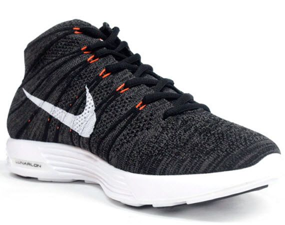 Nike Lunar Flyknit Chukka Grey/White/Orange