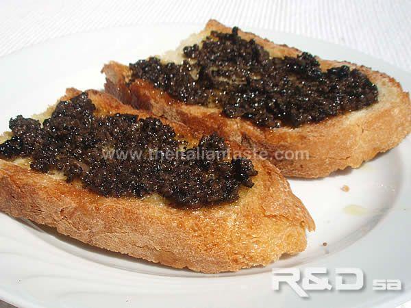 Crostini alla spoletina con salsa al tartufo nero. Ricetta per fare queste…